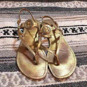 Emmy Tory Burch Gold Sandal